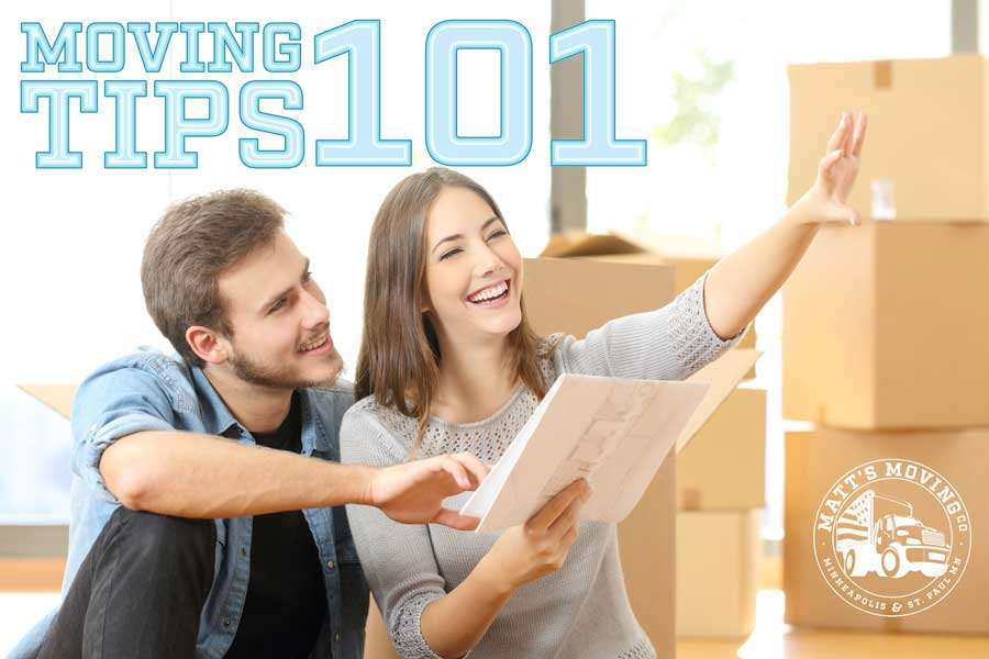 Moving Tips brought to you by Matt's Movers Minneapolis & St. Paul, MN